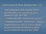 overview of rule responder ii