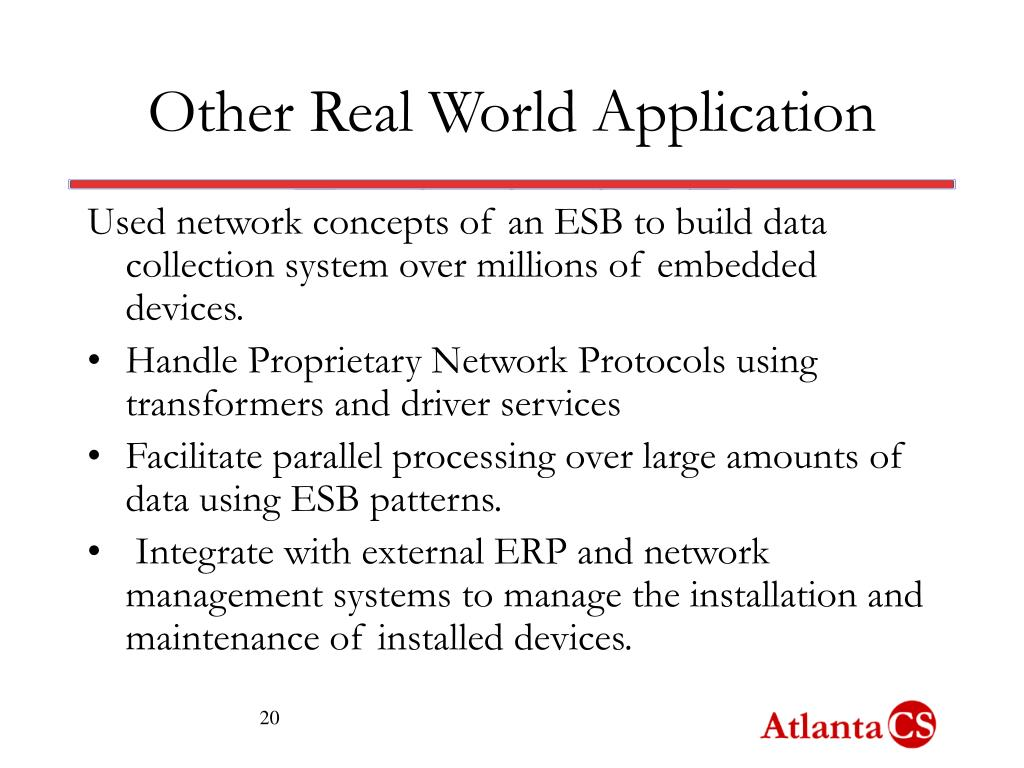 Other Real World Application