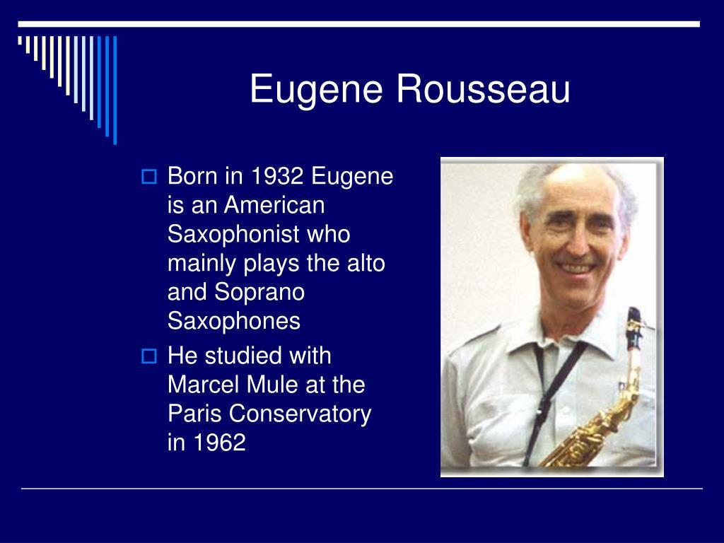 Eugene Rousseau