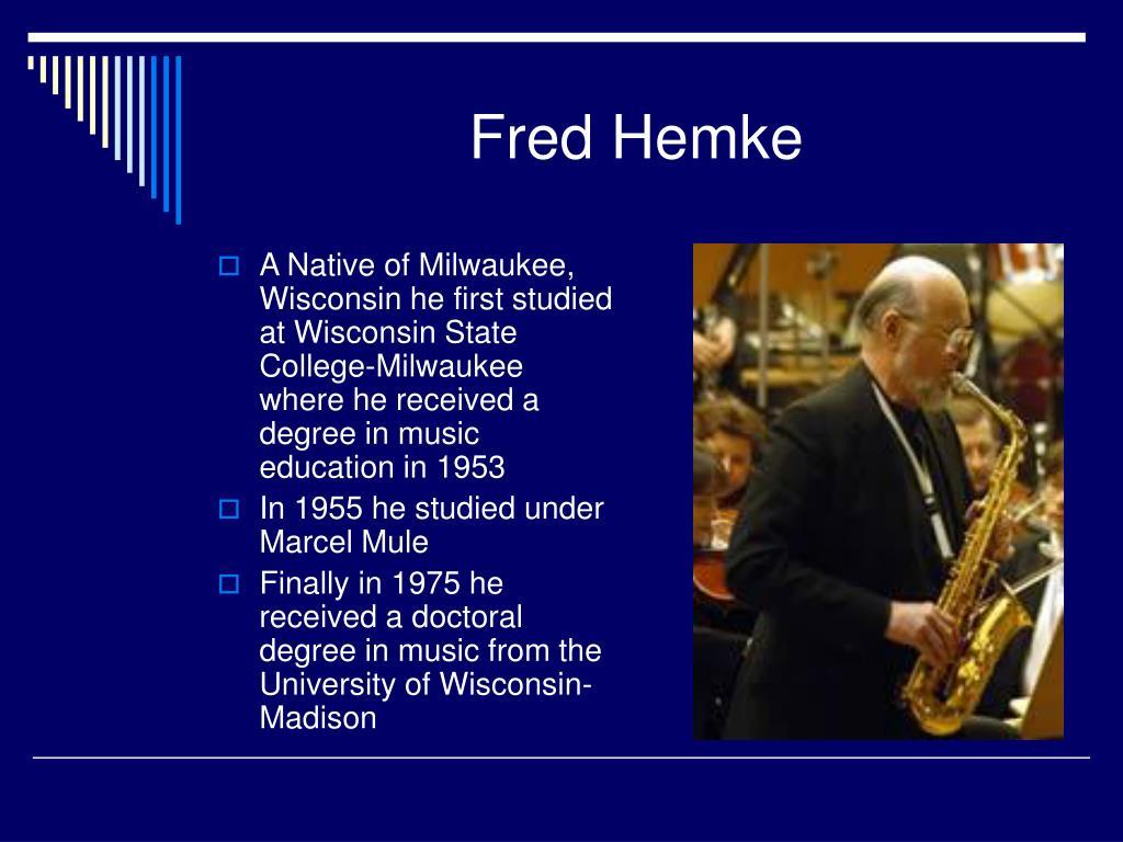 Fred Hemke