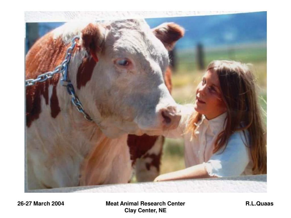 Meat Animal Research Center