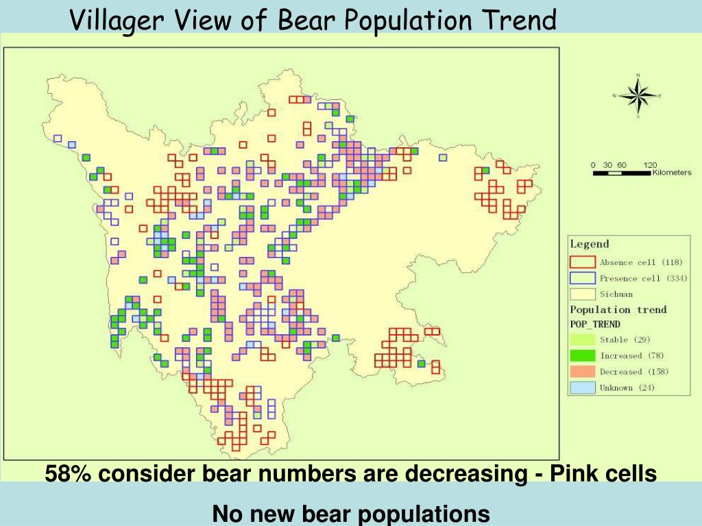 Villager View of Bear Population Trend