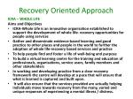 recovery oriented approach1
