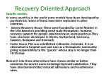recovery oriented approach12