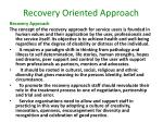recovery oriented approach2