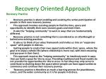 recovery oriented approach3