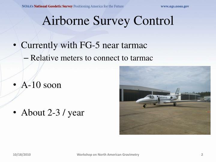 Airborne Survey Control