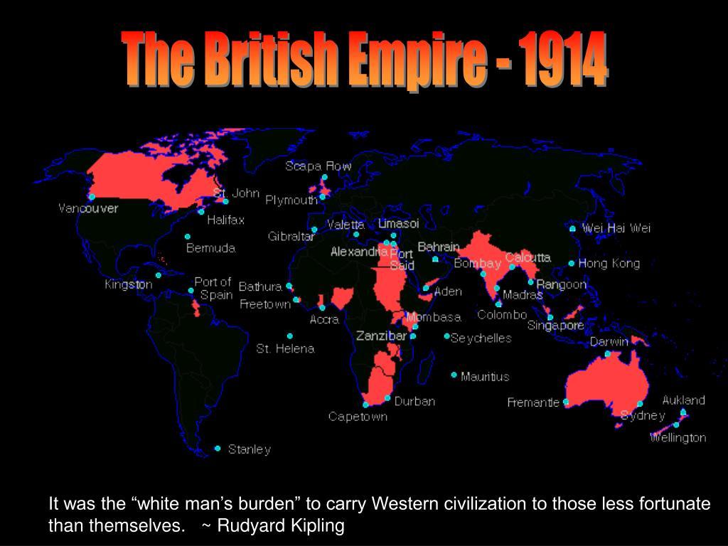 The British Empire - 1914