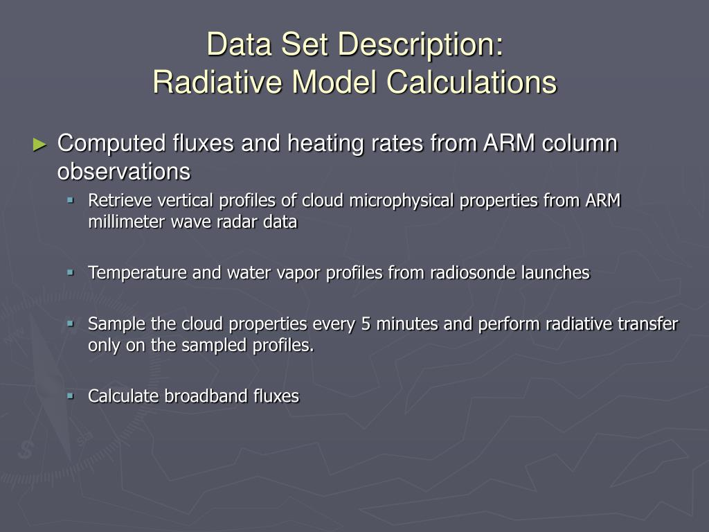 Data Set Description: