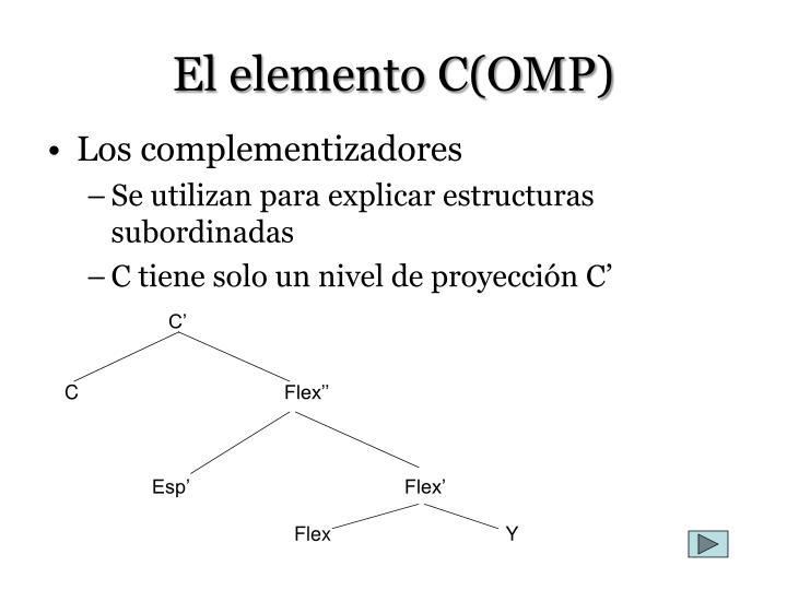 El elemento C(OMP)