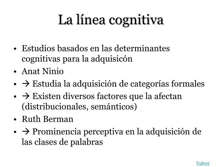 La línea cognitiva