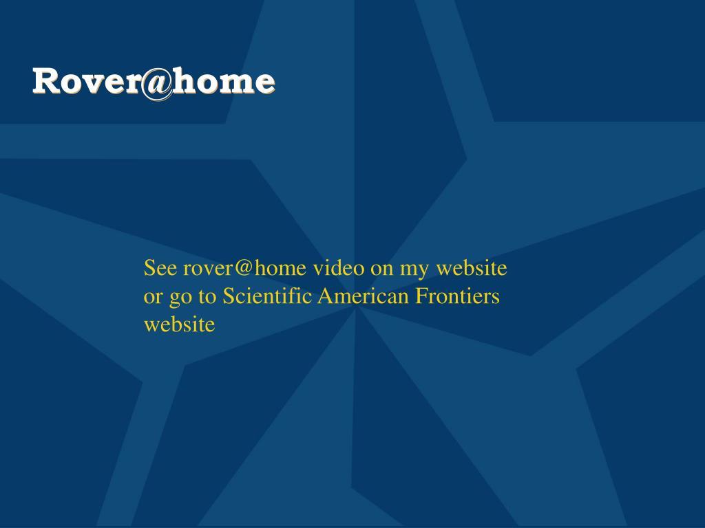 Rover@home