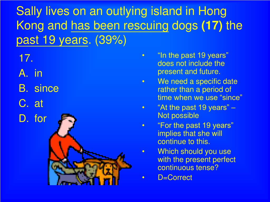 Sally lives on an outlying island in Hong Kong and