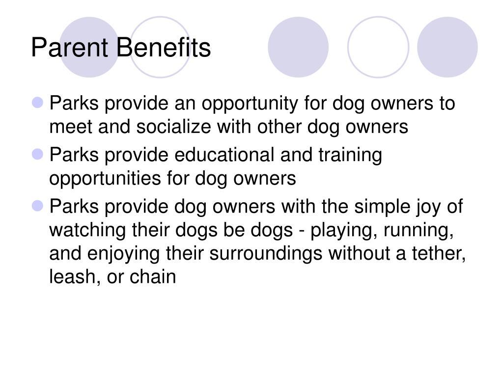 Parent Benefits