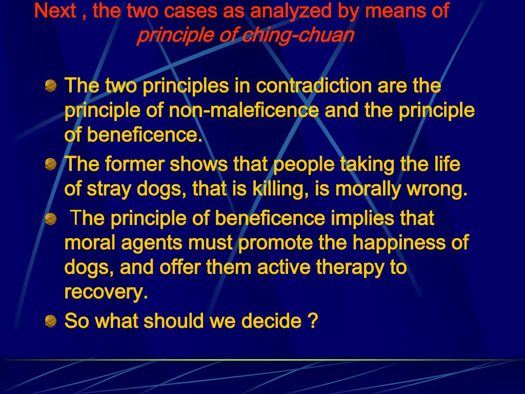 Next , the two cases as analyzed by means of