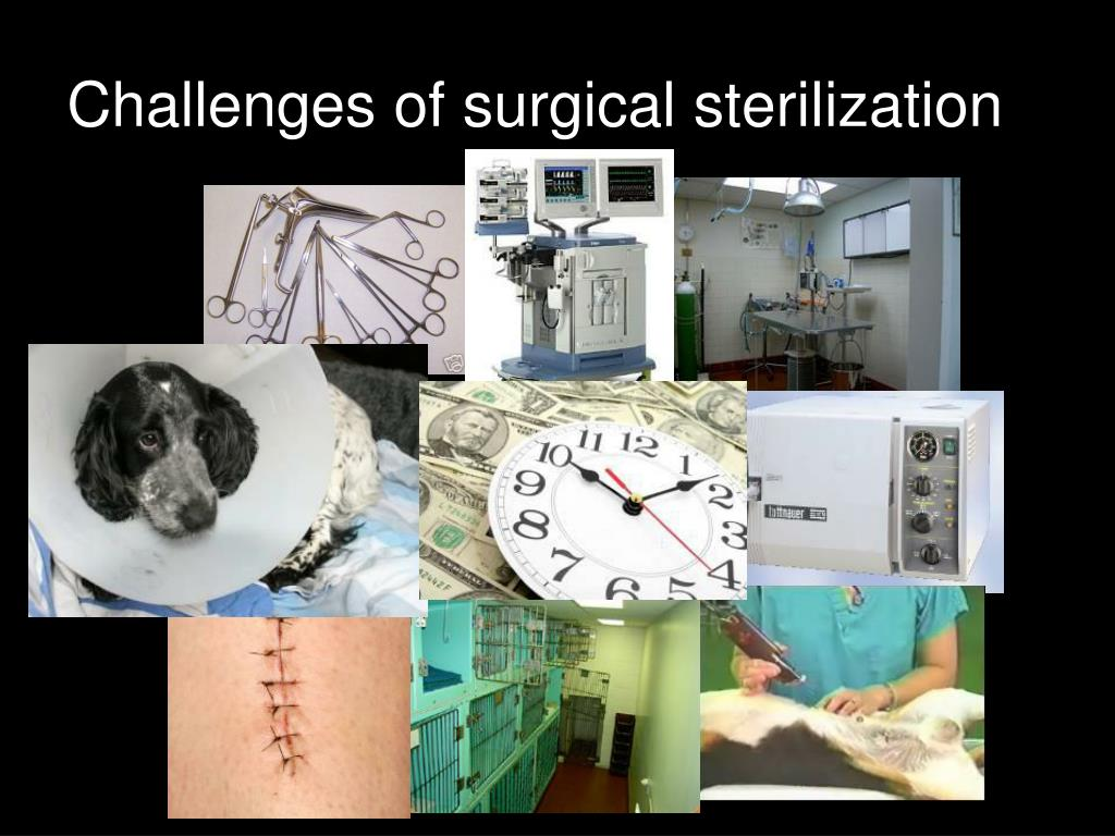 Challenges of surgical sterilization
