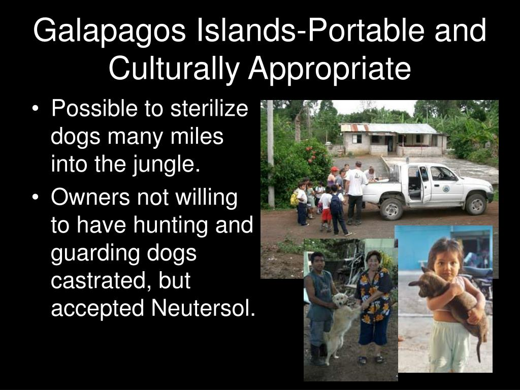 Galapagos Islands-Portable and Culturally Appropriate