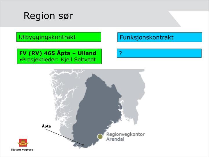 Region sør