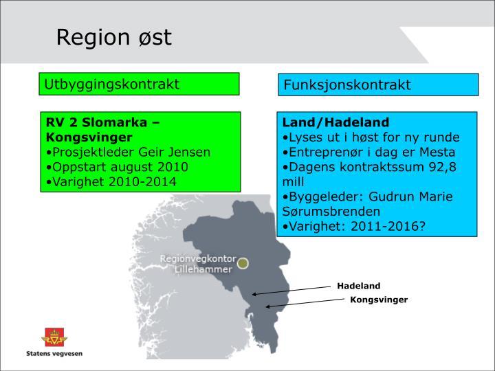 Region øst