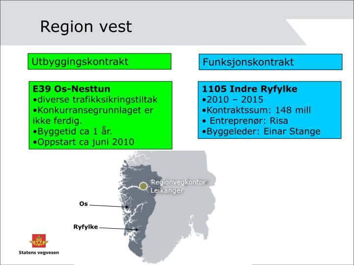 Region vest