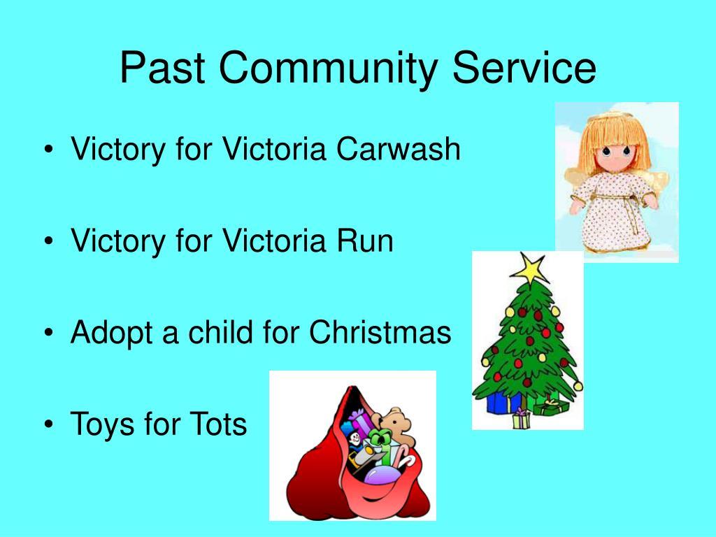 Past Community Service