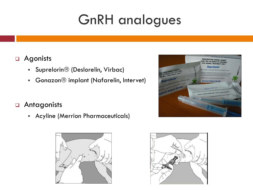 GnRH analogues