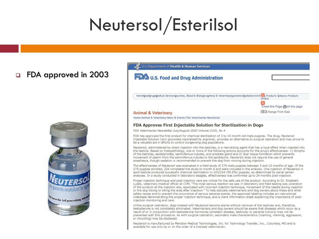 Neutersol/Esterilsol