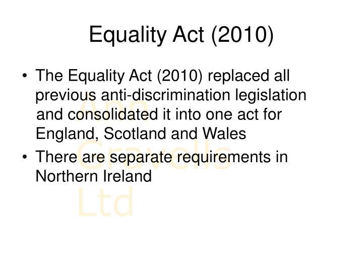 Equality Act (2010)