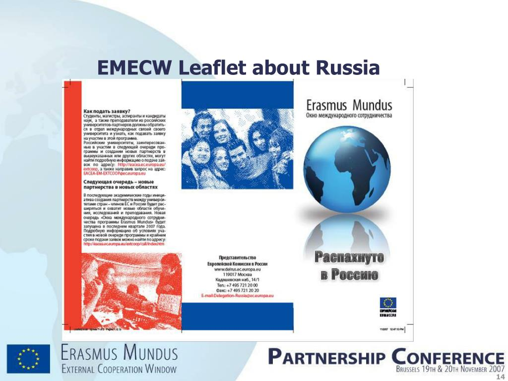 EMECW Leaflet about Russia