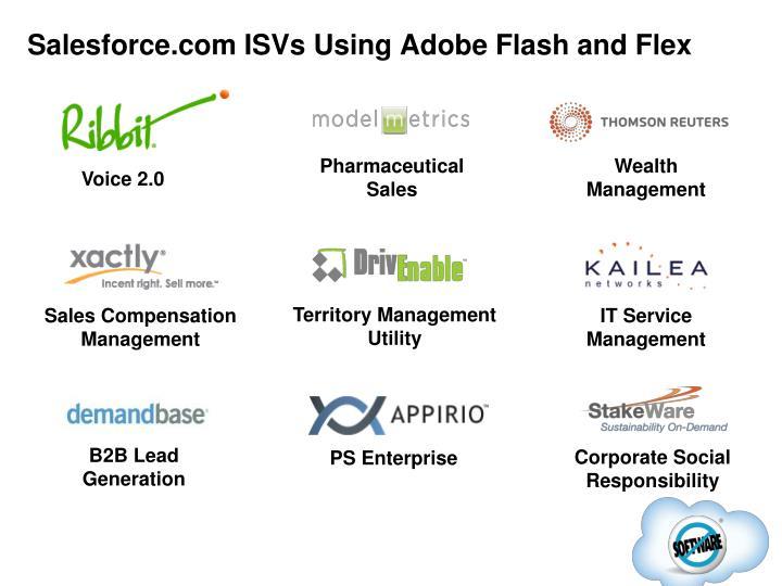Salesforce.com ISVs Using Adobe Flash and Flex