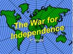 the war for independence32