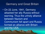 germany and great britain37