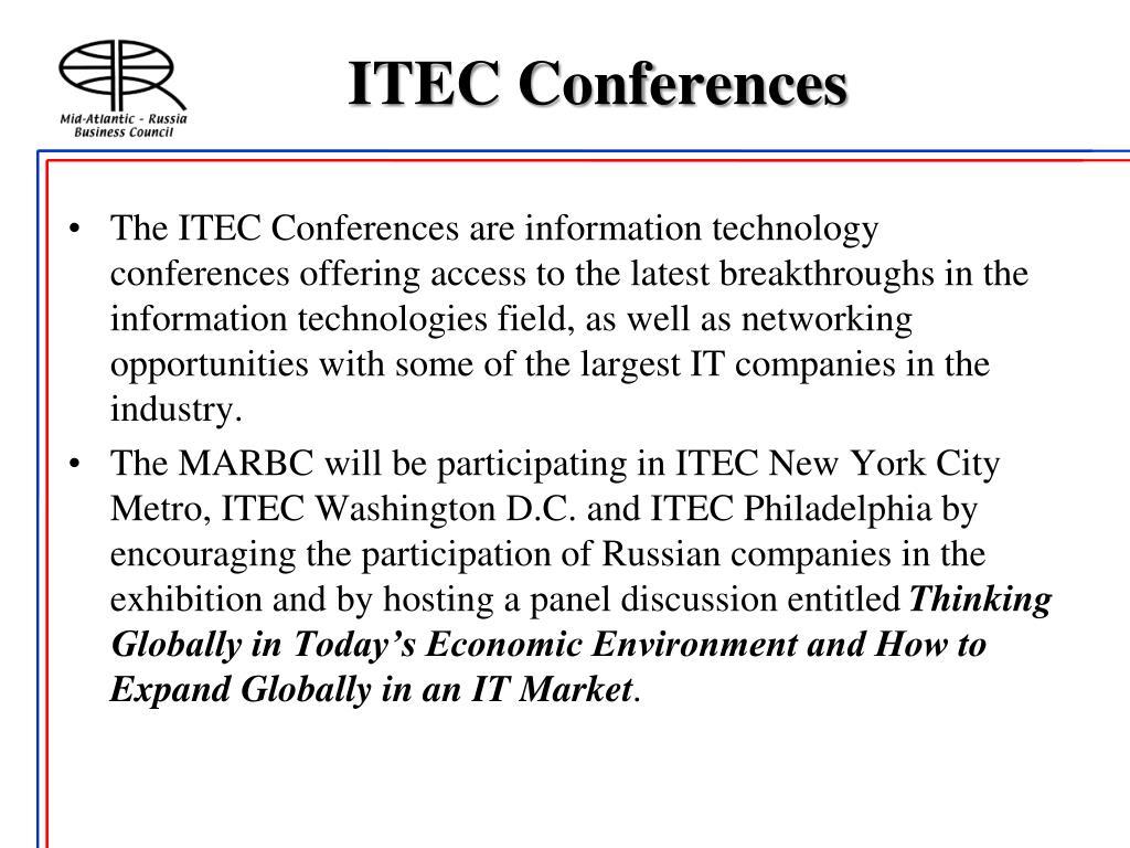ITEC Conferences
