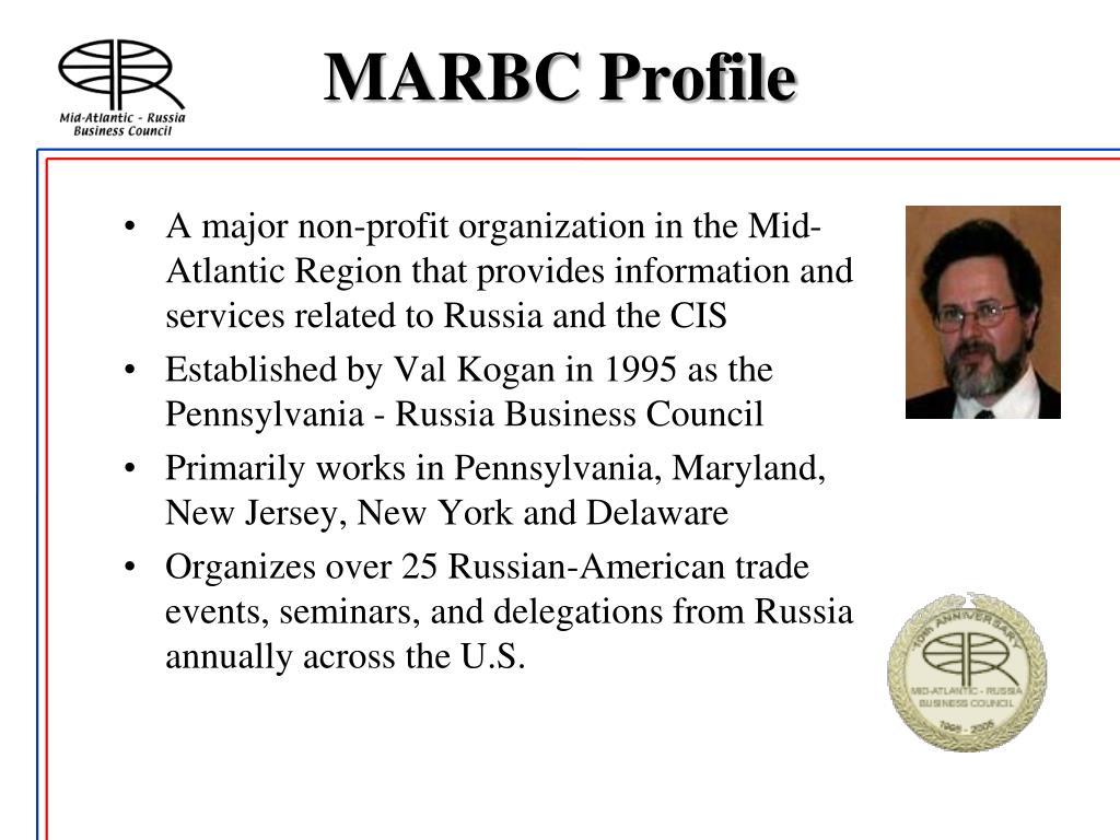 MARBC Profile