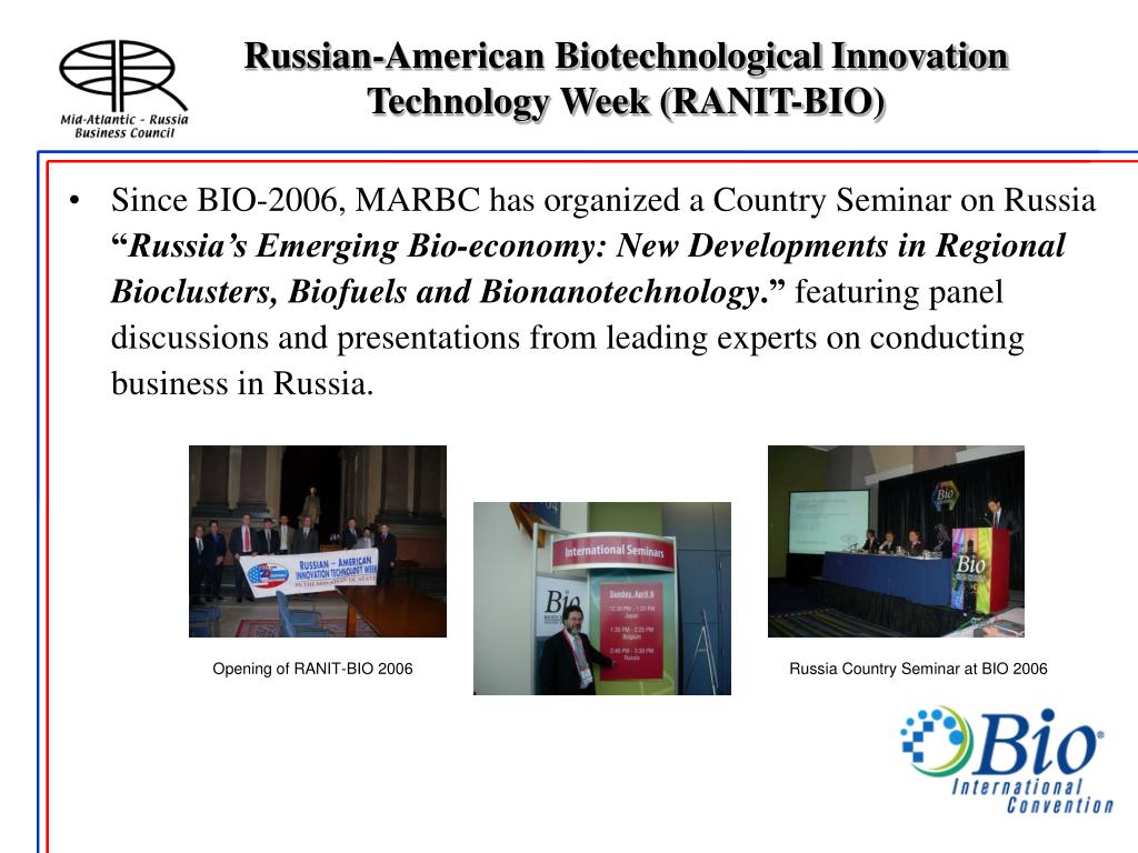 Russian-American Biotechnological Innovation