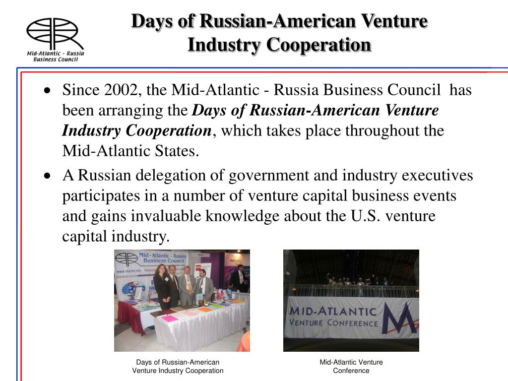 Days of Russian-American Venture