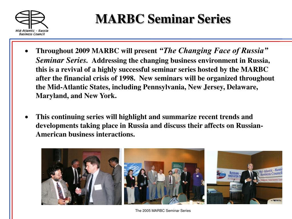 MARBC Seminar Series