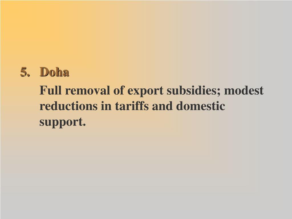 5. Doha