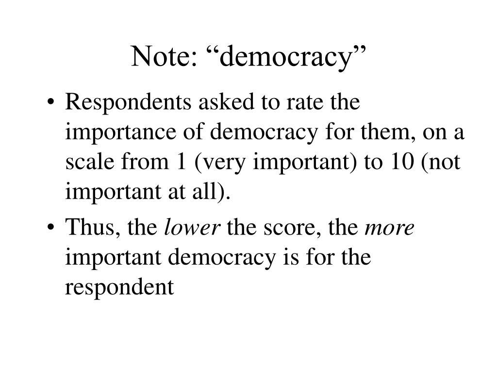 "Note: ""democracy"""