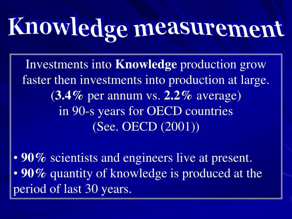 Knowledge measurement