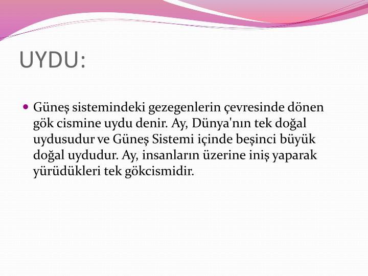 UYDU: