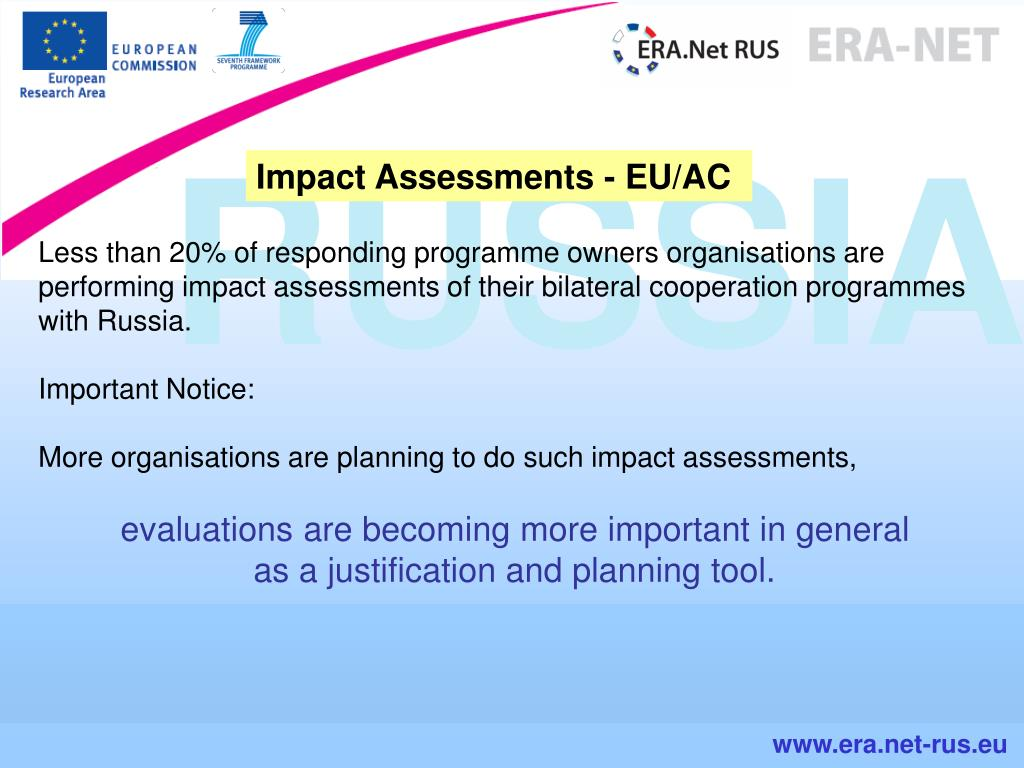 Impact Assessments