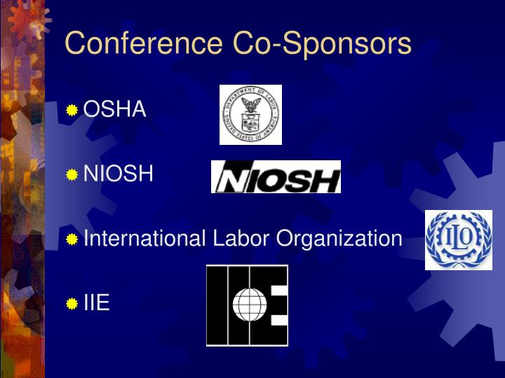 Conference Co-Sponsors