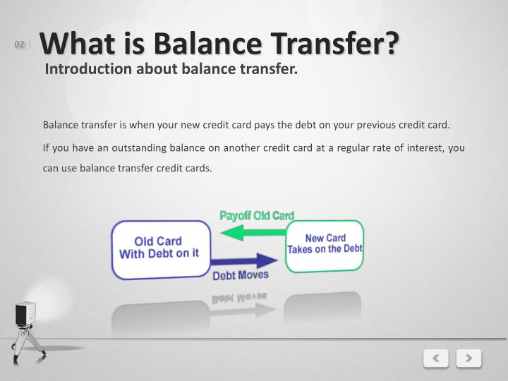 What is balance transfer