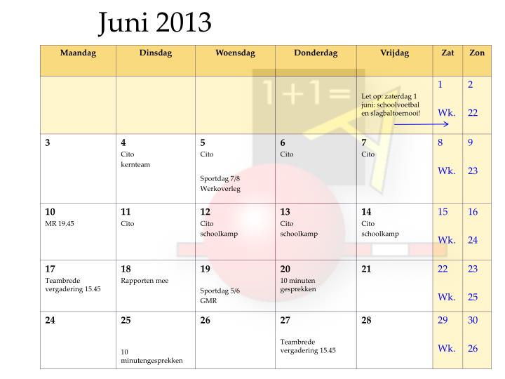 Juni 2013
