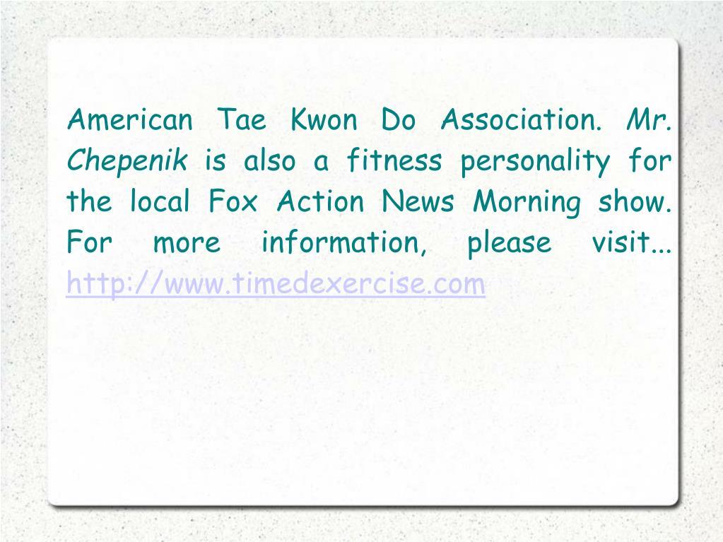 American Tae Kwon Do Association.