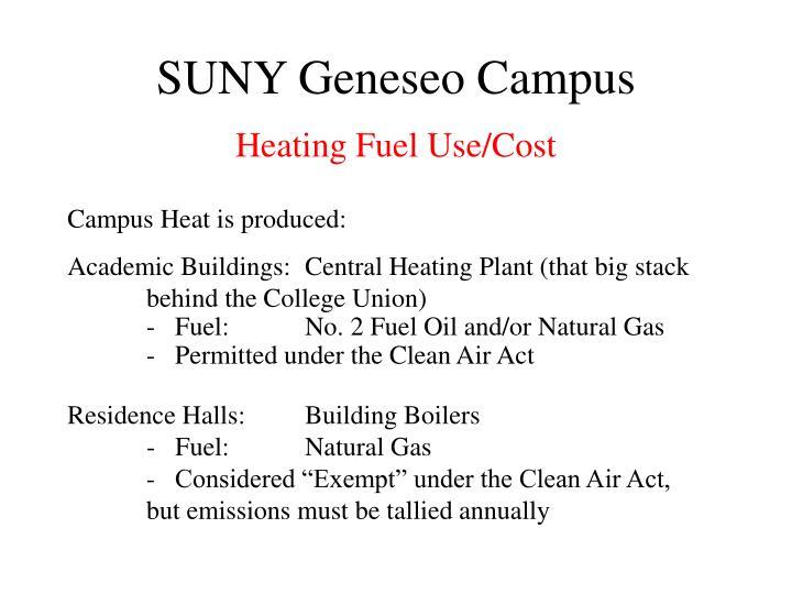 SUNY Geneseo Campus