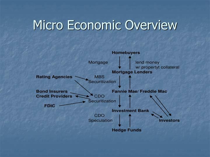 Micro Economic Overview