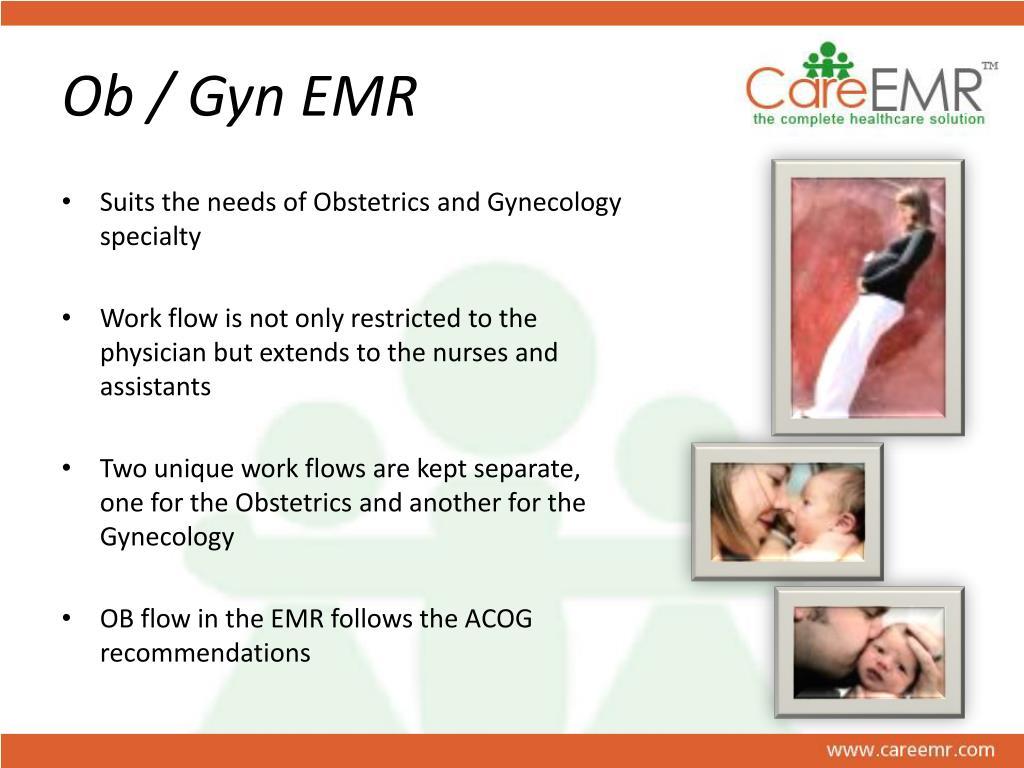 Ob / Gyn EMR