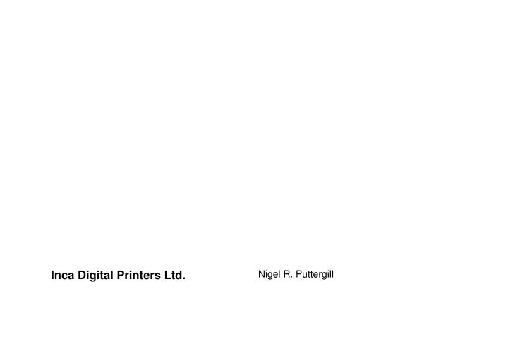 Inca digital printers ltd
